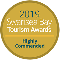 Swansea Bay Tourism Awards - Highly Commended 2019