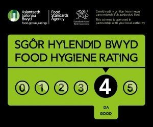 Food Hygiene Rating 4