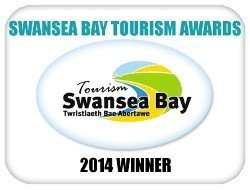 Swansea Bay Tourism Award: Best Self Catering Agency (2014)