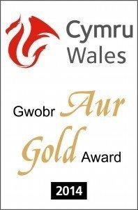 Visit Wales Gold Award 2014