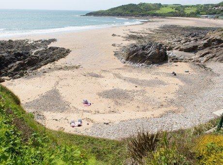 Rotherslade Bay beach