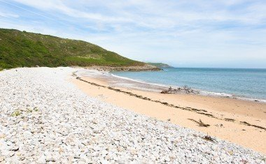Pwll Du Bay beach