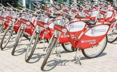 Santander Cycles Swansea