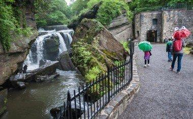 Aberdulais Tinworks & Waterfall