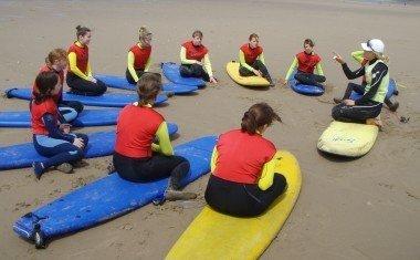 Welsh Surfing Federation Surfing School