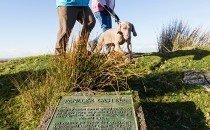 Walking to Penlle'r Castell - Rural Swansea