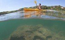 Sea Kayaking, Langland Bay © City & County of Swansea 2014