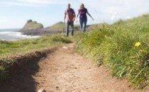 Walking in Gower (near Mewslade Bay) © City & County of Swansea 2014