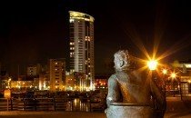 Swansea through the eyes of local legend Dylan Thomas © City & County of Swansea 2014