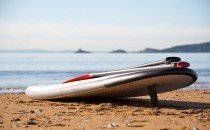 Stand up paddleboarding © City & County of Swansea 2014