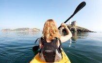 Sea Kayaking, Mumbles © City & County of Swansea 2014