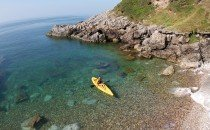 Sea Kayaking, Gower © City & County of Swansea 2014