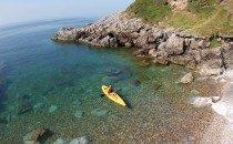 Sea Kayaking, Gower © City & County of Swansea 2014
