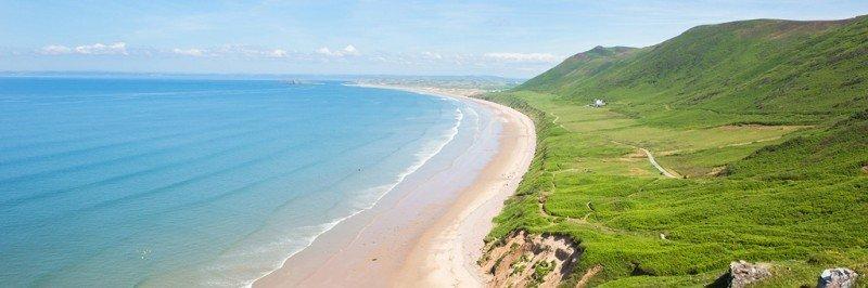 Rhossili Bay, Gower Peninsula - Visit Swansea Bay