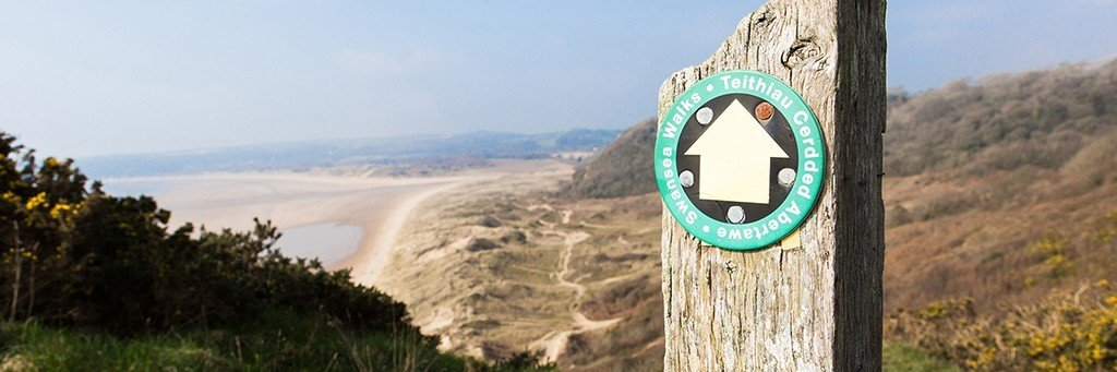 Walking around the Gower Peninsula - Wales Coast path