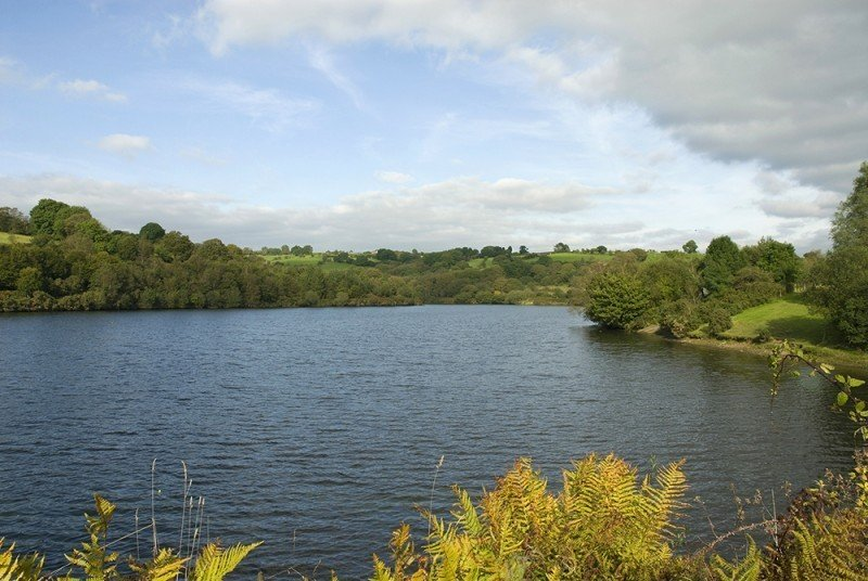 lower Lliw Valley Reservoir - Rural Swansea