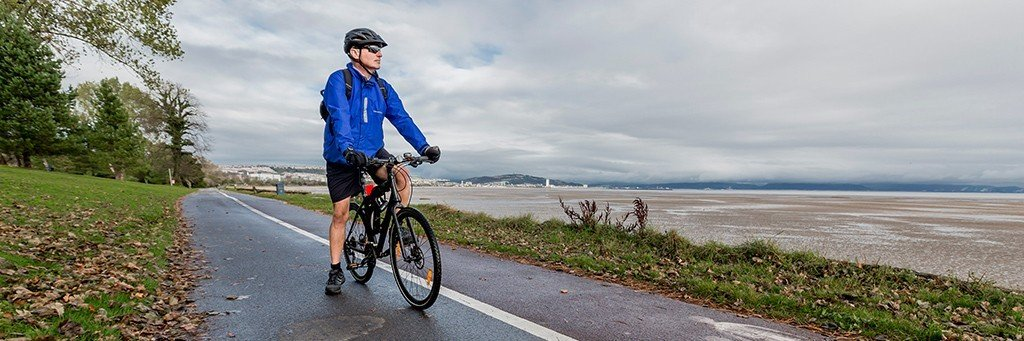 Cycle Routes in Swansea Bay