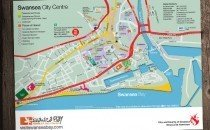 Swansea City Centre Map