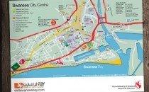 Swansea City Centre Map