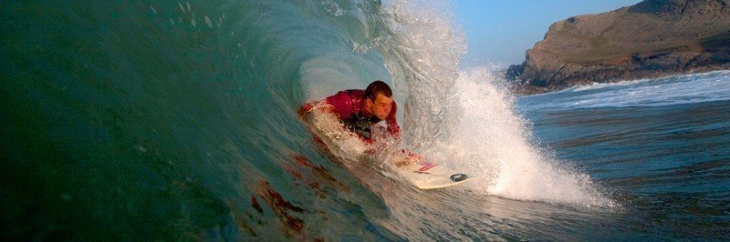 Surfing the Gower Peninsula