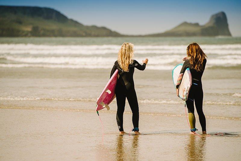 Surfing on Gower