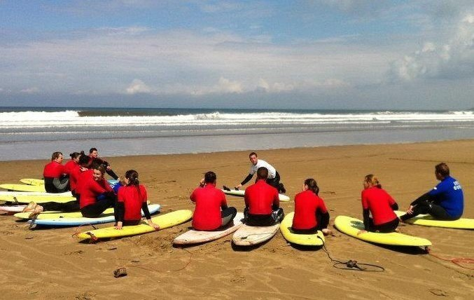 Surfing Lessons in Gower with Surf GSD
