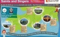 Singers & saints - southampton vs swansea (April 2013)