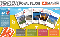 A Royal Flush for Reading fans visiting Swansea