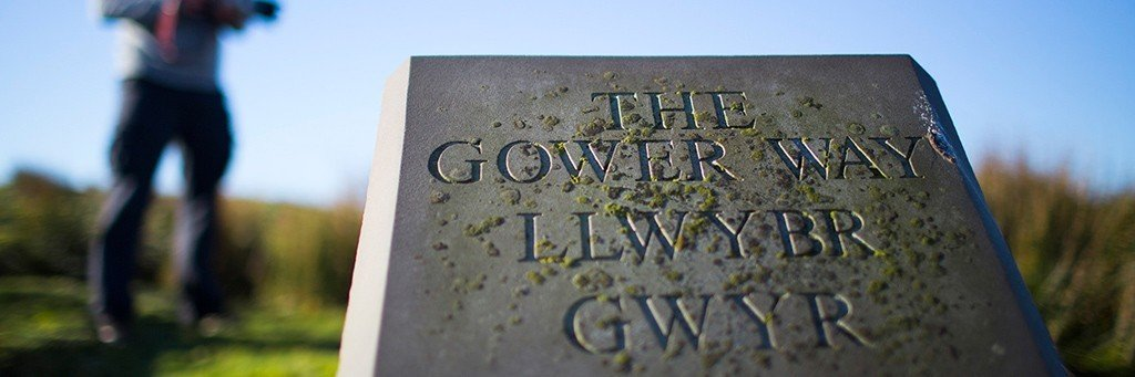 The Gower Way - coastal and countryside walk in the UK