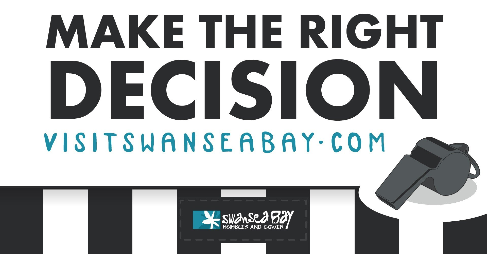 Referees, make the right decision - Visit Swansea Bay