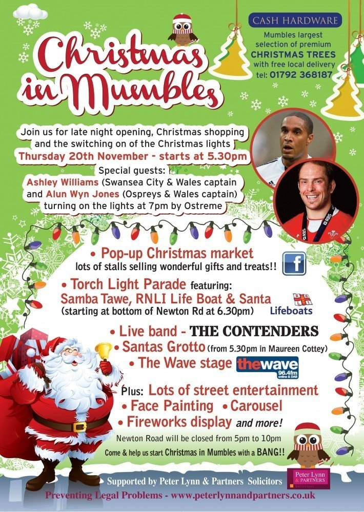Christmas in Mumbles