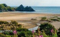 Three Cliffs Bay, Gower (Wales, UK)