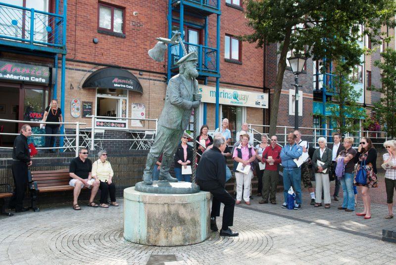 Dylan Thomas guided tour