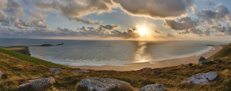 Rubbish Swansea Bay