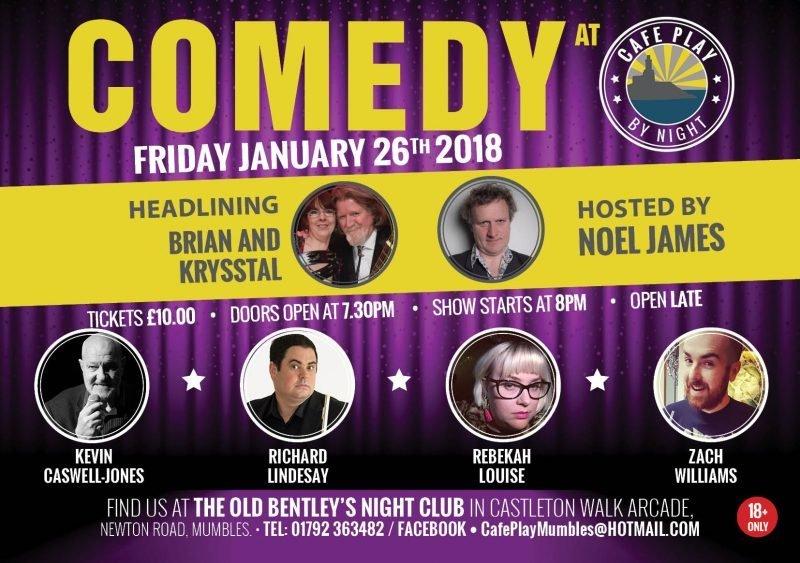 Comedy Night January 2018