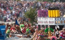 RNLI Mumbles Raft Race