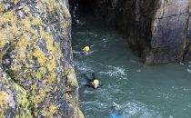 Coasteering © Visit Swansea Bay / Swansea Council