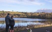 Dog Walkers in Lliw  © Visit Swansea Bay / Swansea Council