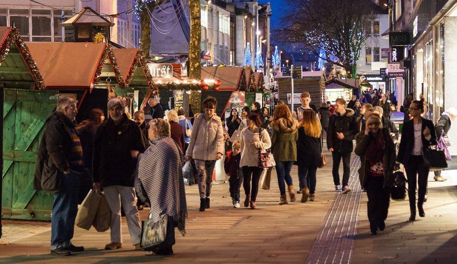 Swansea Christmas Markets