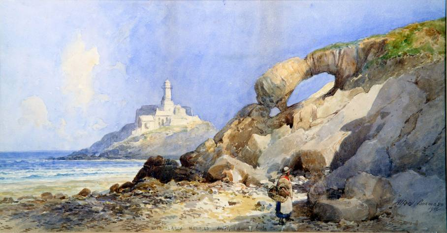 Alfred Parkman, Natural Arch Mumbles, 1910, © City & County of Swansea: Glynn Vivian Art Gallery Collection