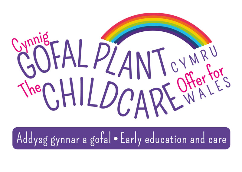 Logo of Childcare Offer for Wales