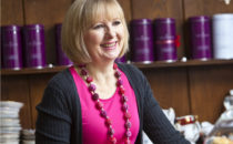 Photo of chef Nerys Howell at Croeso Swansea
