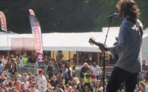 Photo of musician Ragsy at Croeso Swansea