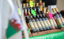 Photo of Welsh wines on sale at Croeso Swansea