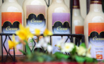 Photo of welsh drinks on sale at Croeso Swansea
