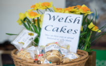 Photo of welsh cakes on sale at Croeso Swansea