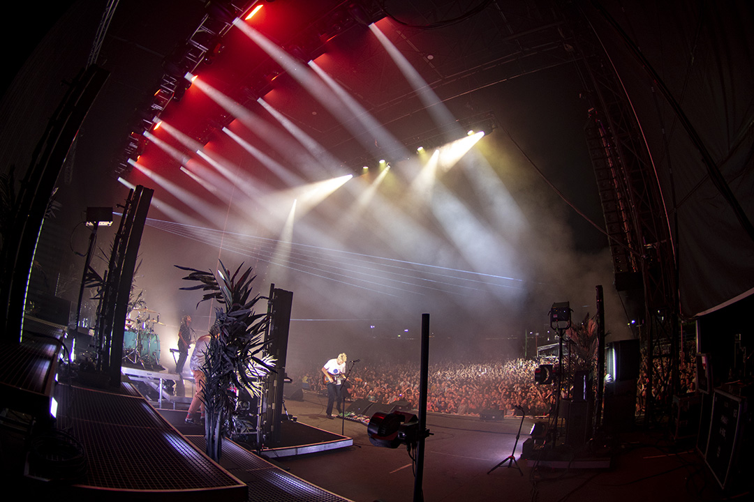 Foals live at Swansea